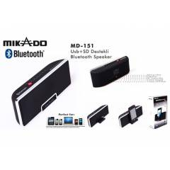 MIKADO MD-151 USB+SD DESTEKLI BLUETOOTH SPEAKER