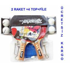 MASA TEN�S RAKET� 2 RAKET 4 TOP F�LE SET S�PER