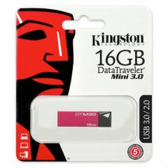 KINGSTON 16GB DATATRAVELLER MINI 3.0 USB BELLEK