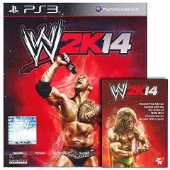 PS3 WWE 2K14 ULTIMATE WARRIOR DLC HED�YEL�
