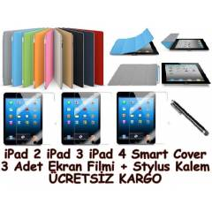 iPad 2 iPad 3 Yeni iPad 4 Smart Cover K�l�f