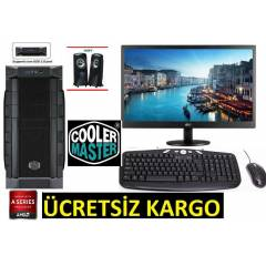 AMD 4 �EKiRDEK+20 LED+320 GB +8 GB RAM+HAZIR PC
