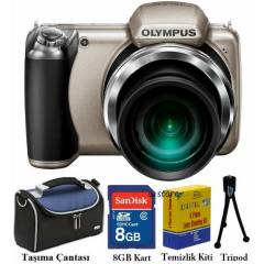 Olympus SP-810UZ 14MP HD 36X 3D Foto�raf Makines