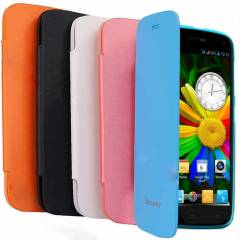 General Mobile Discovery K�l�f Flip Cover + Film