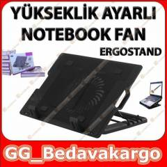 Ergostand Notebook So�utucu Fan Y�kseklik Ayarl�
