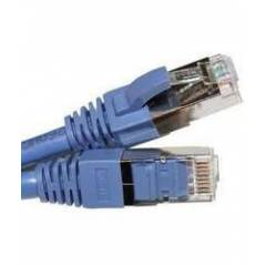 HCS S/FTP Cat6A Patch Cord LSOH Gri 1m
