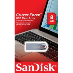 SANDISK FORCE 8GB METAL USBBELLEK-�CRETS�ZKARGO