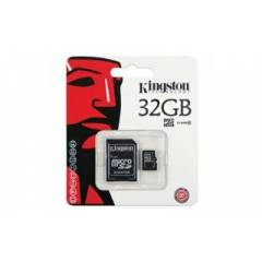 KINGSTON 32GB CLASS 10 MICRO SDHC-�CRETS�Z KARGO