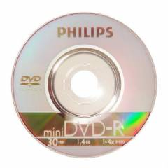 DVD-R 1.4GB 1-2X philips PH�L�PS M�N� DVD M�N�