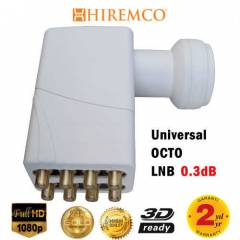 HIREMCO 0.3dB OCTO - 8 ��k��l� FULL HD LNB