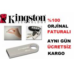 8 GB USB FLASH BELLEK K�NGSTON M�N� METAL KASA