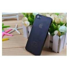 iPhone 5S 5 KILIF �ZEL ULTRA �NCE 0.2mm KAP 2 AD