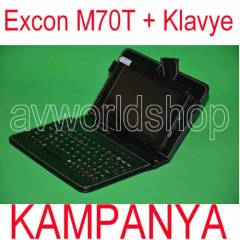"Excon M70t 8GB 7"" Tablet Pc +Klavyeli K�l�f 2ka"