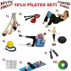 10'LU P�LATES SET�-BANT+PLATES TOP+TW�STER+�P Q