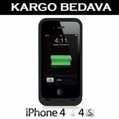 iPhone 4 4S mophie JUICE PACK PLUS �arjl� K�l�f