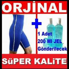 SWEAT TERMAL SAUNA �ORT + 200 ML JEL HED�YEL�