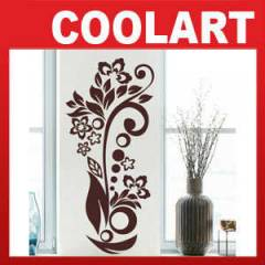COOLART Duvar Sticker  �i�ek dal (st202)