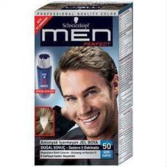 SCHWARZKOPF MEN PERFECT 50-A�IK KAHVE JEL BOYA