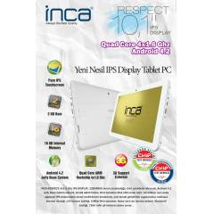 "INCA RESPECT 10,1"" 16GB BEYAZ TABLET"
