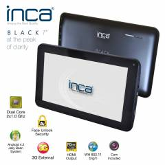 "INCA BLACK  7""  8GB+1GB RAM S�YAH TABLET PC"