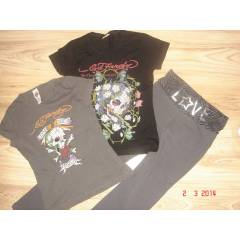 ED HARDY 2 ADET T���RT ,THERE HERE PANTOLON !!!!