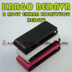 Apple iPhone 5 Amerikan PDA  Deri Kapakl� K�l�f