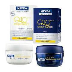 Nivea Q10 Plus G�nd�z+Gece Kremi