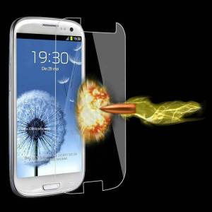 Galaxy S3 i9300 Tempered Glass Cam Ekran Filmi