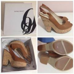 Nine West AYAKKABI kullan�lmam�� 38.5 no
