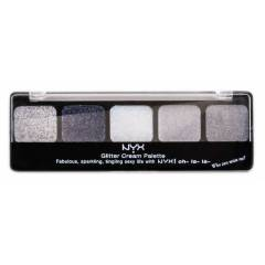 NYX GLITTER CREAM PALETTE *ICE QUEEN