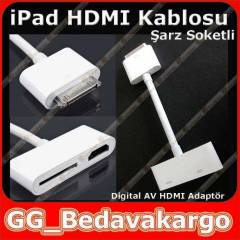 iPad 2 Hdmi Kablosu Digital AV HDMI Adapt�r