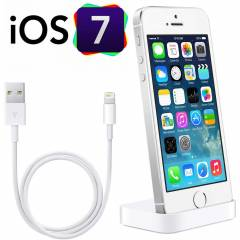 iPhone 5 / 5s Dock Masa�st� �arj Aleti�USB Data.