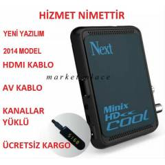 Next Minix HD Cool Full HD Uydu Al�c�s� + Fatura