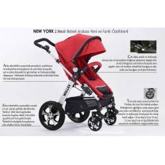 Wollex New York Travel Set Puset Bebek Arabas�
