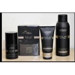 ORIFLAME ECLAT FOR MEN+SPREY DEO+TRA� BALM+ROLON
