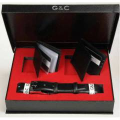 G&C Collection 3'l� Deri C�zdan Kemer Set