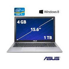 ASUS Laptop �5 4200U 4GB 1TB 2GB VGA Win8 15.6""