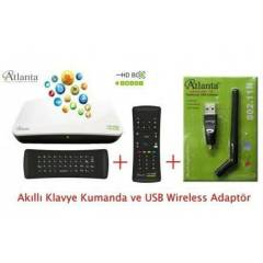 Atlanta Smart Box Android+ak�ll� kumanda+wifi