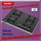 Simfer 3030-D Do�algazl� s�per Set �st� cam Ocak