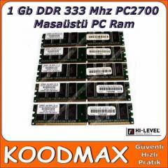 1 GB DDR 333 PC2700 H� - Level Ram - 2. el