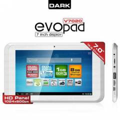DARK EvoPad V7020 DUAL CORE 1.5GHz 1GB 8GB 7 USB