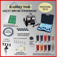AIRBRUSH GE��C� D�VME PRO SET A3 - RES�F