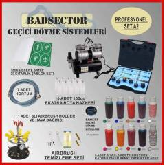 AIRBRUSH GE��C� D�VME PRO SET A2 - RES�F