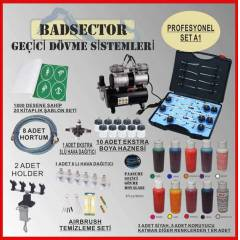 AIRBRUSH GE��C� D�VME PRO SET A1 - RES�F