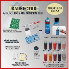 AIRBRUSH GE��C� D�VME TRAVELLER SET A5 - RES�F