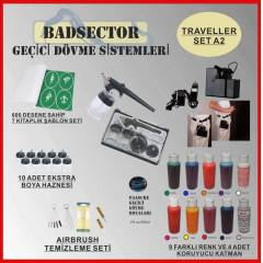 AIRBRUSH GE��C� D�VME TRAVELLER SET A2 - RES�F