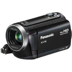 Panasonic HC-V100 EGK-W Full HD Video Kamera
