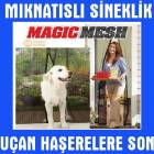 Magic Mash Otomatik Kap� Sinekli�i T�l Perde