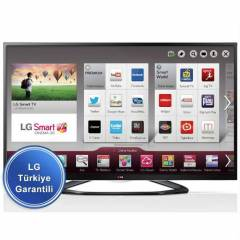 LG 47LA640S DVB-S 3D FHD SMART LED LCD TV +4x 3D