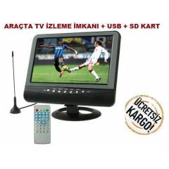9.5 �N� ARA� LCD MON�T�R(USB+AV�N+SD KART-MP3+TV